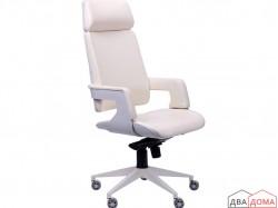 Крісло Axon білий PU ваніль AMF