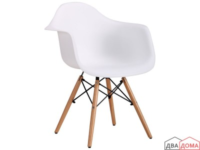Крісло Salex PL Wood білий AMF